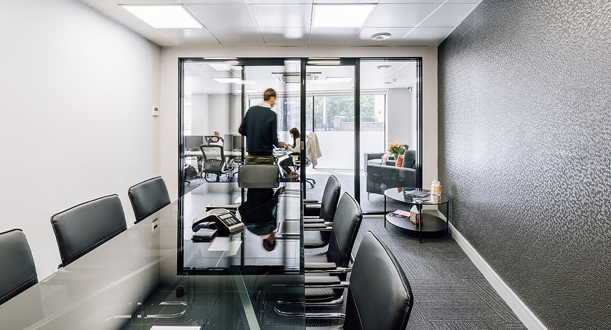 Modern design meeting room London