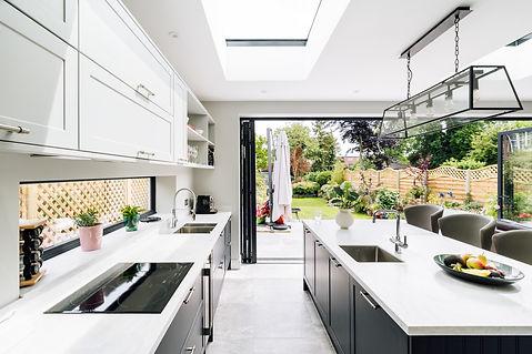 Modern kitchen extension Isleworth