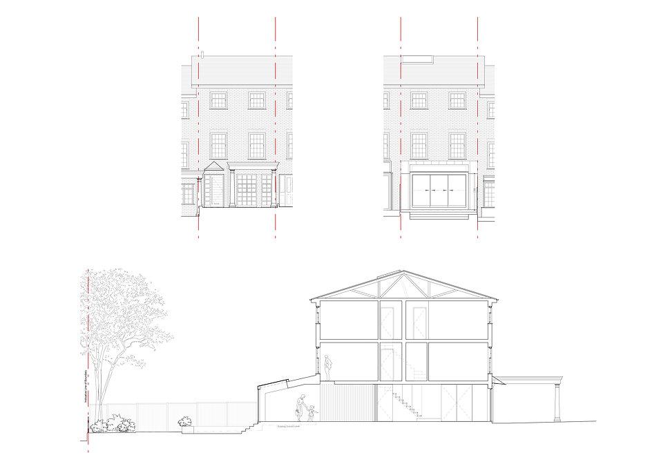 Plans for house extension Wimbledon