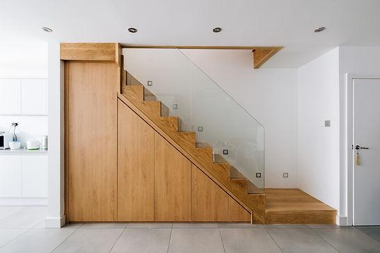 Open Plan Stairs Refurbishment