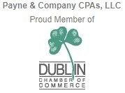 Membership badge for the Dublin Chamber of Commerce.