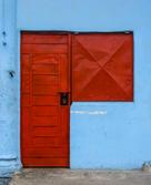 Cuba-blue-house-red-door-Havana _Jennife