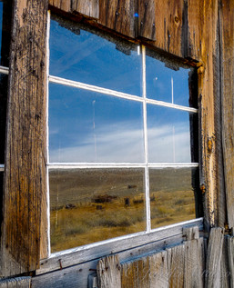 california-Bodie-ghost-town-window-refle