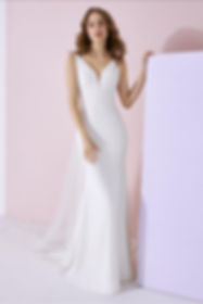 Wedding dress by White One Bridal