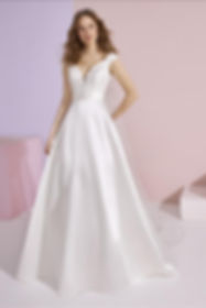ZINA Wedding dress by White One Bridal