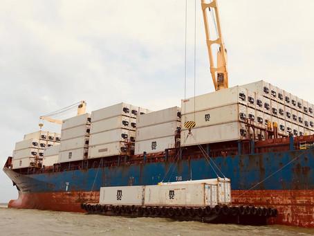 Operación portuaria Urabá/Banacol