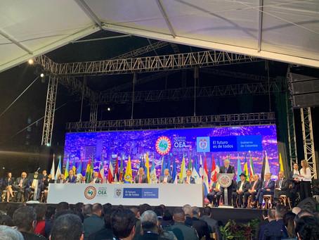 Presentes en la 49 Asamblea General de la OEA
