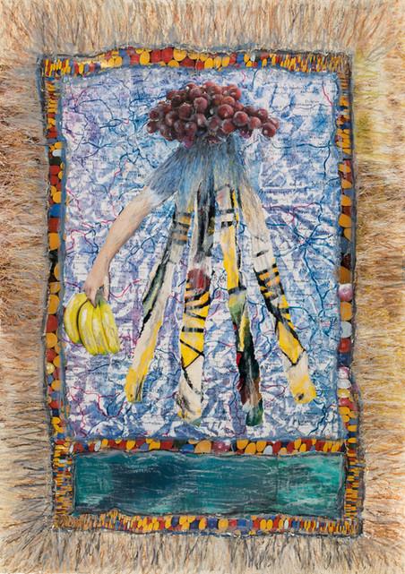14_Am Nebelhorn, 2015, Collage, partiell