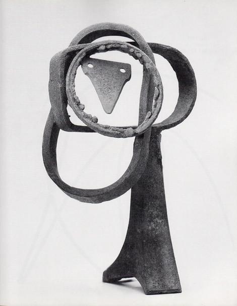 09_Kopf, genannt Leonardo, 1987, Eisen,