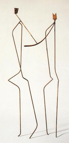 10_Hornblower, 1989, Eisen, geschweißt,