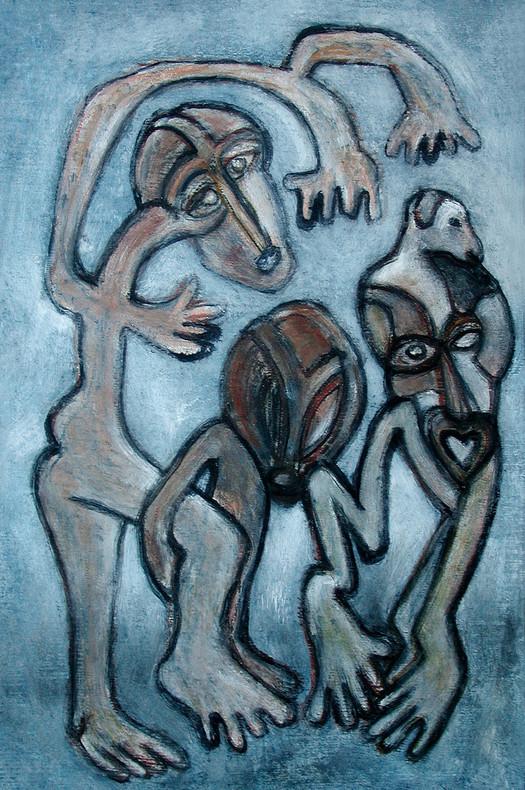 20_Einsamkeitswettbewerb, 2006, Aquarell