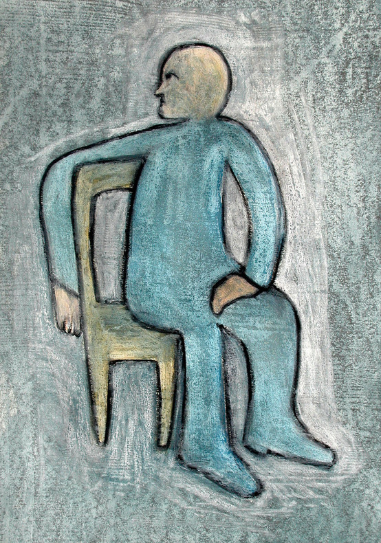 16_Man on a Chair - Imaginary Portrait o