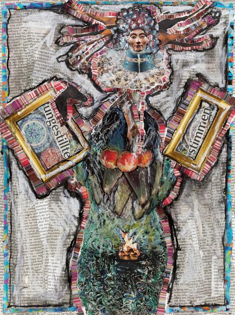 06_Ungestillte Stimmen, 2015, Collage, p