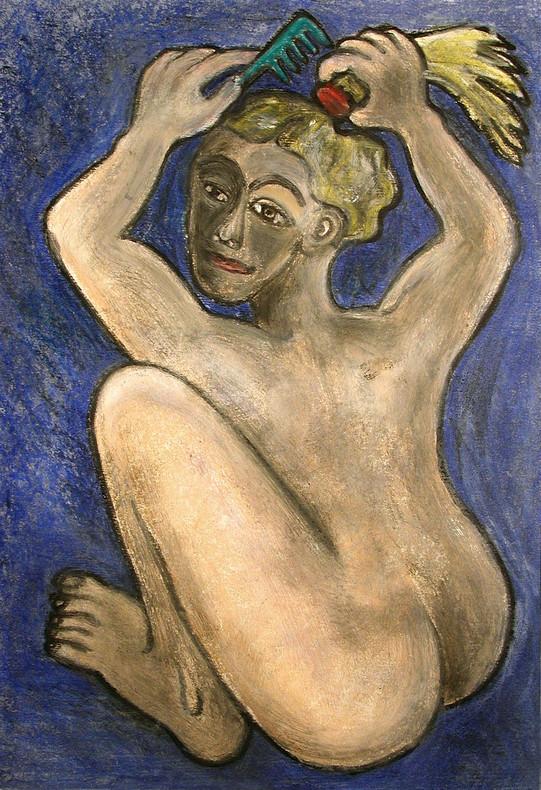 27_Die Zwergin, 2006, Aquarell, 43 x 30,