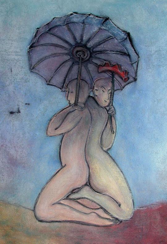 32_See me, feel me, 2006, Aquarell, 43 x