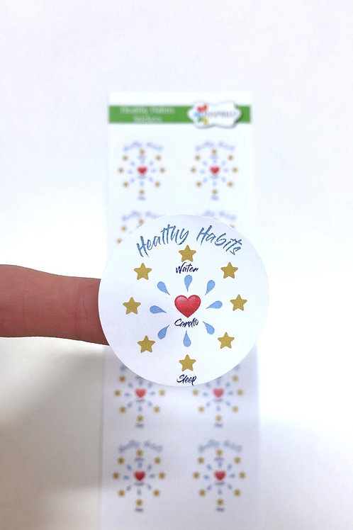 Inspired Healthy Habits Stickers