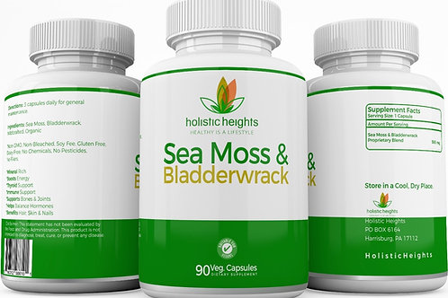 Sea Moss & Bladderwrack capsules
