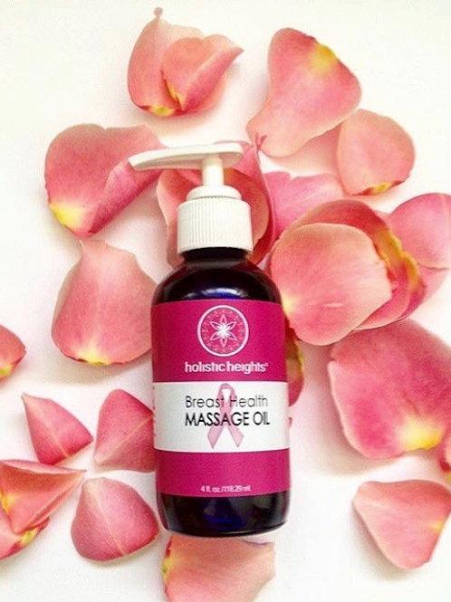 Breast Health Massage Oil 4oz.