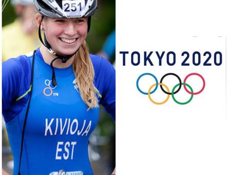 Kaidi Kivioja Tokyo olümpial