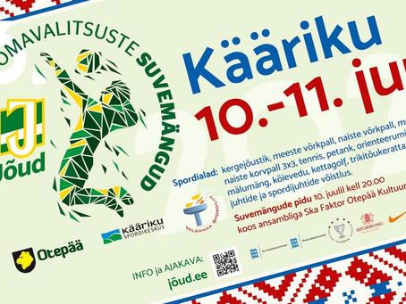 Toimusid 46. Eesti omavalitsuste suvemängud