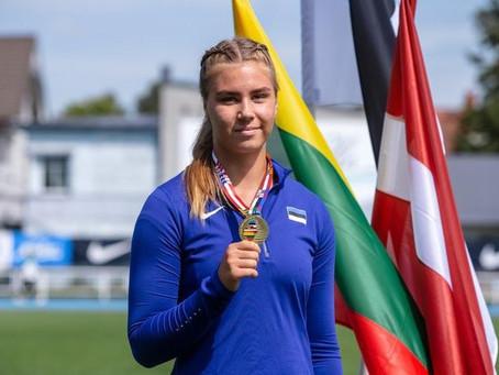 Berit Saar täitis kuulitõukes U20 EM-normi