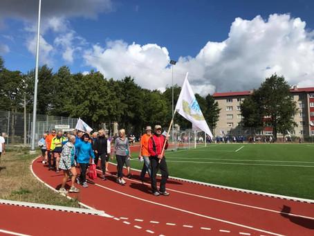 Lääne-Virumaa spordiveteranidele 54. Spordimängudelt tubli II koht