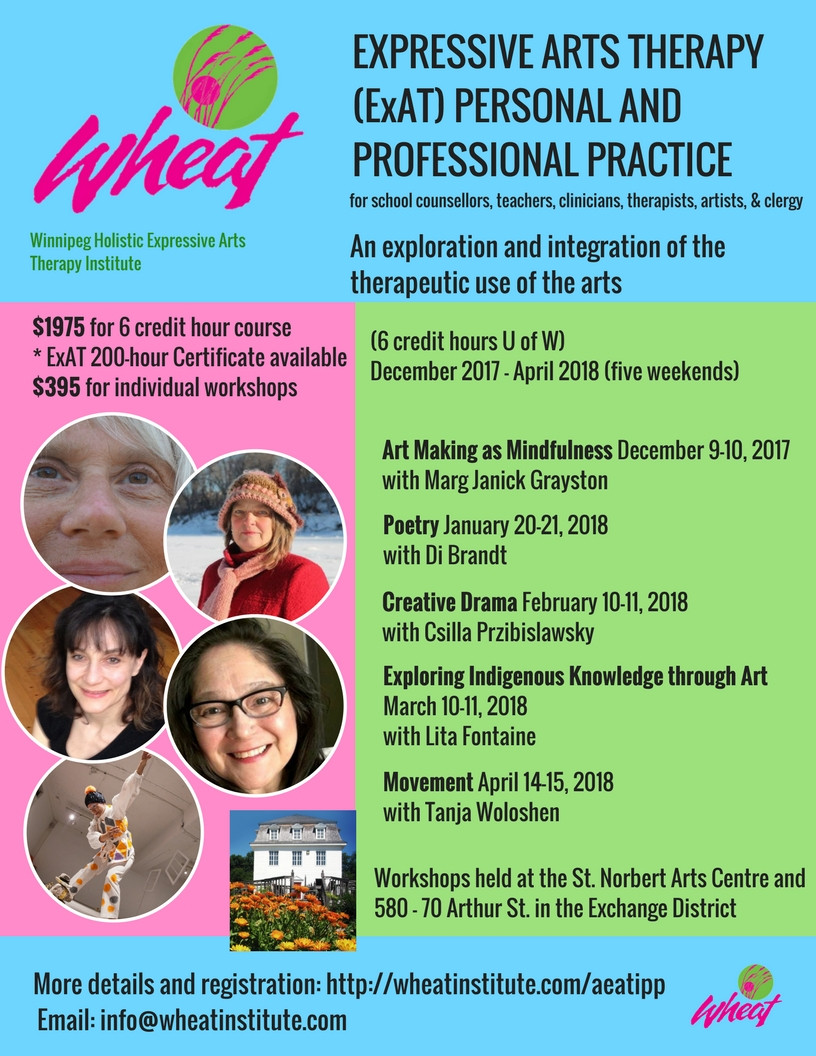 Expressive Arts Therapy: Personal and Professional Practice Poster