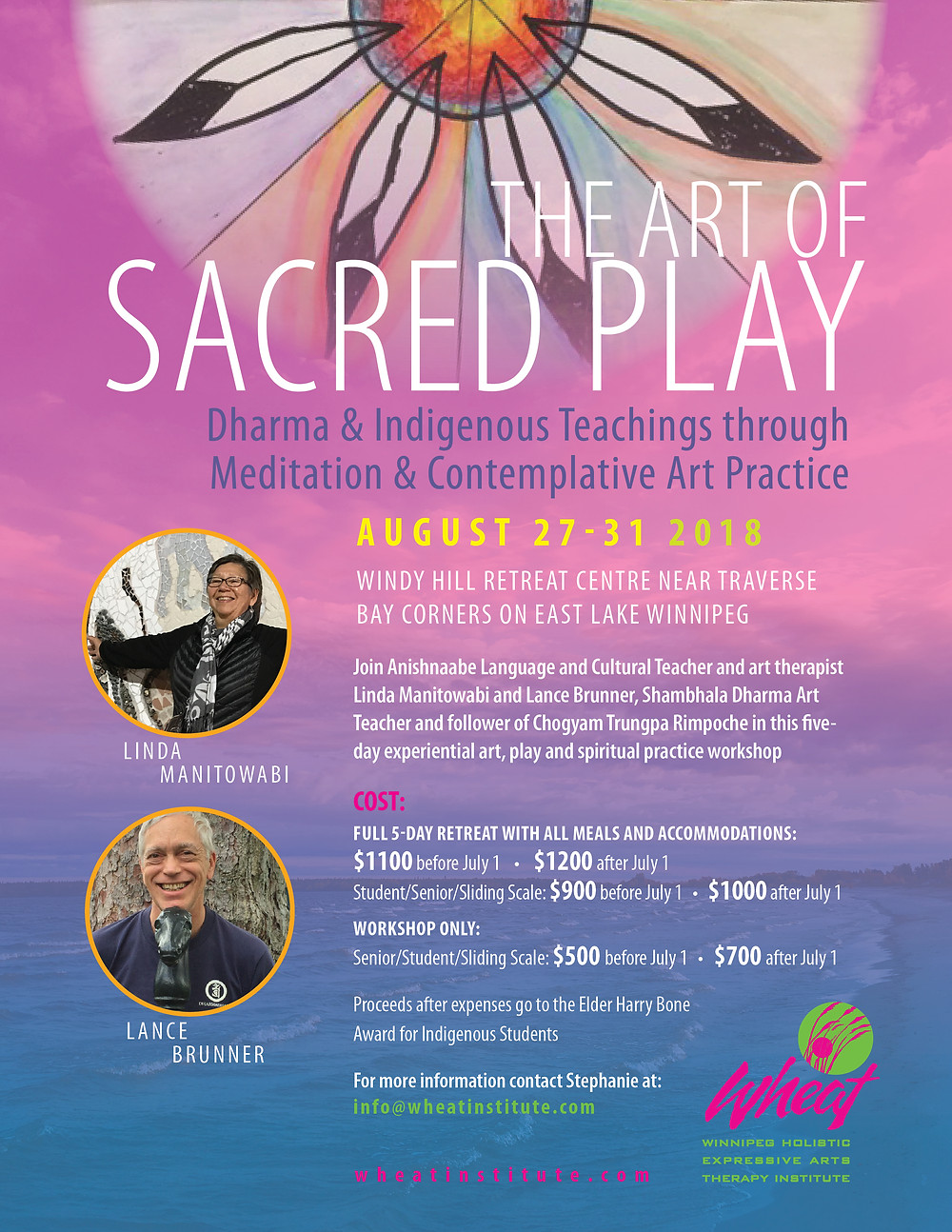 The Art of Sacred Play. Dharma and Indigenous Teaching though Meditation and Contemplative Art Practice