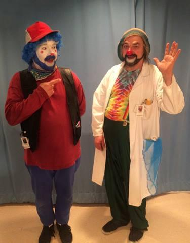 Clown Play featuring David Langdon