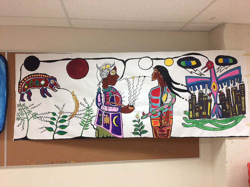 Indigenous Ways of Knowing through the Arts, WHEAT Class with Victoria McIntosh