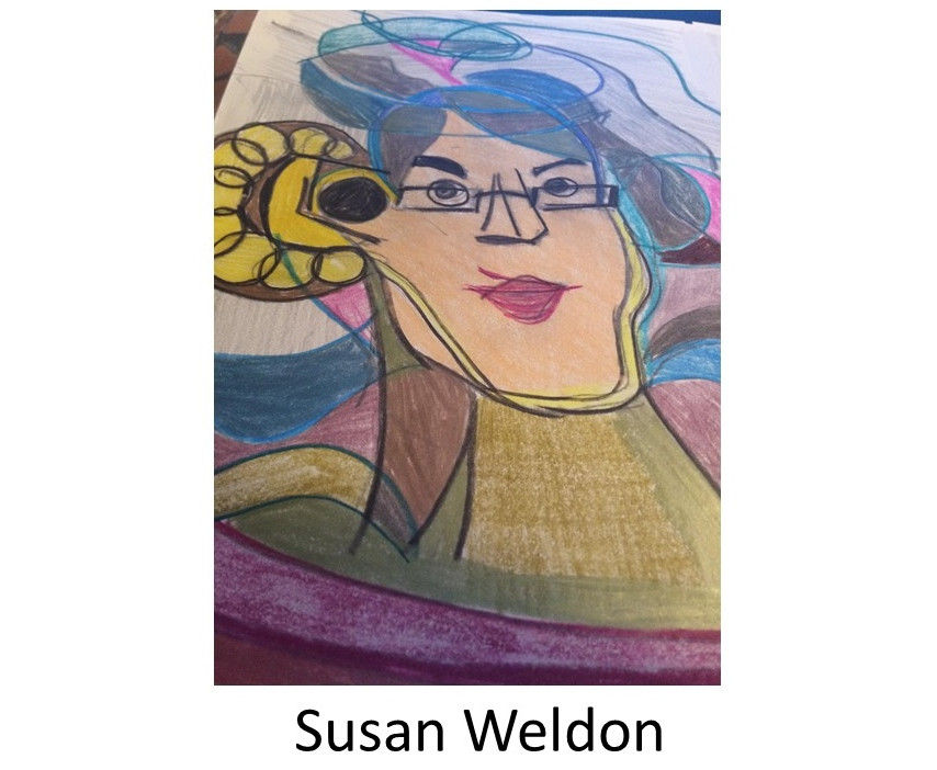 Susan Weldon Artwork. WHEAT Graduating class of 2018