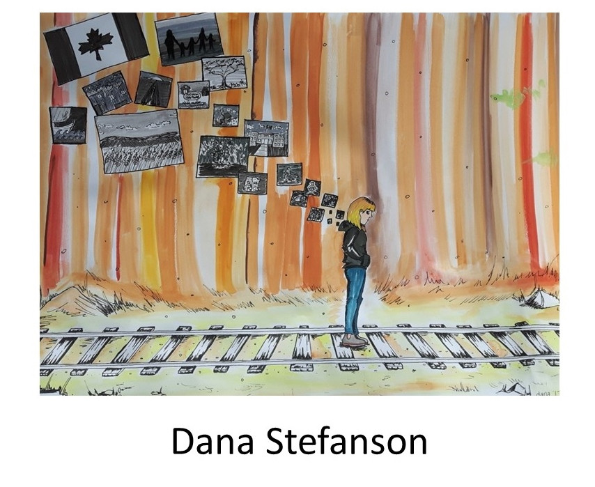 Dana Stefanson Artwork. WHEAT Graduating class of 2018.