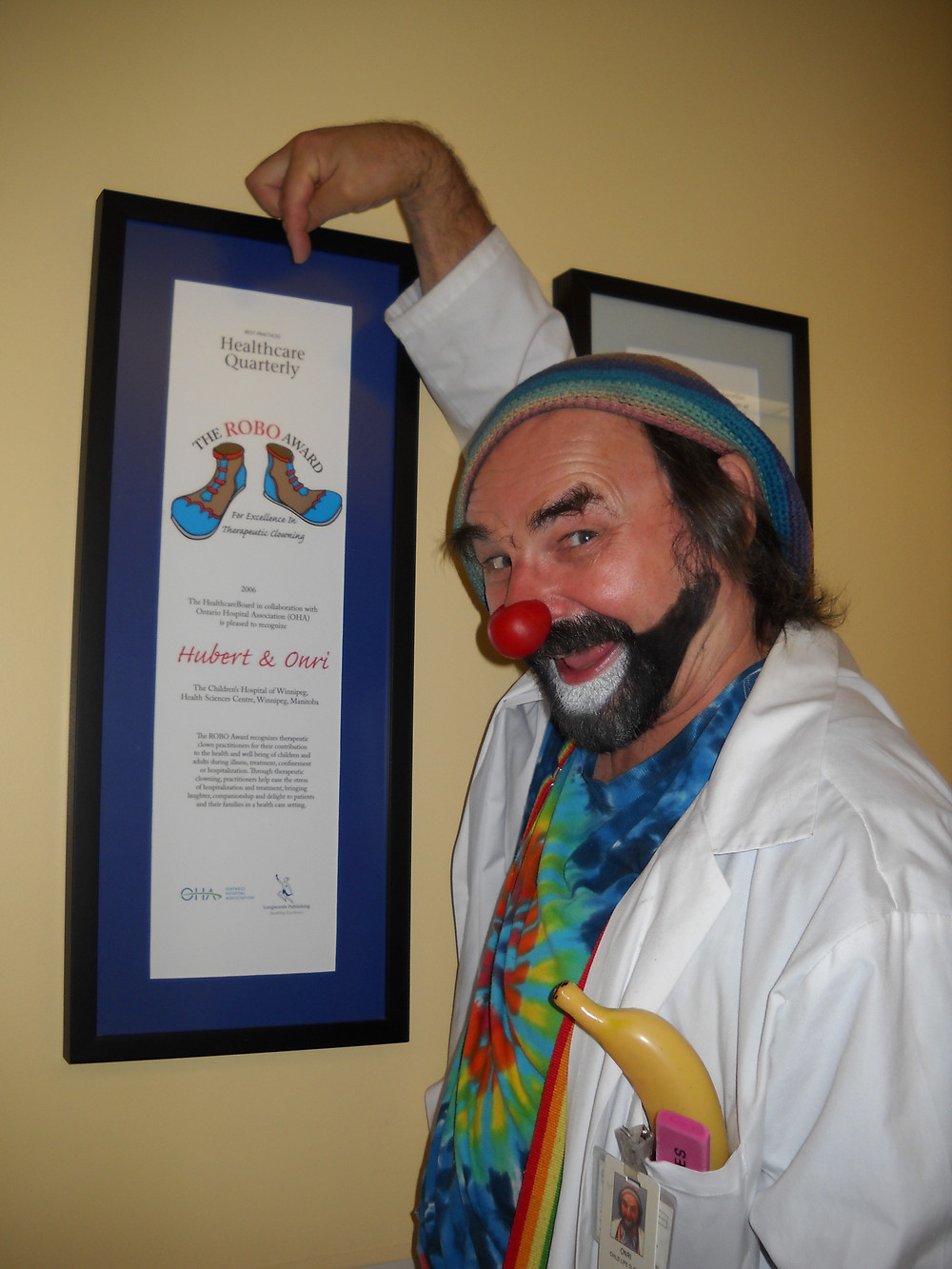 Onri with the Robo Award (credit:David Langdon)