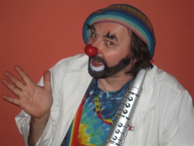 David Langdon, Professional Therapeutic Clown in Winnipeg, Manitoba