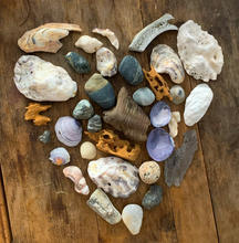 Fragments collected from coast-to-home