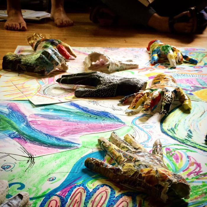 WHEAT Students Artwork, Art Therapy, Expressive Arts Therapy