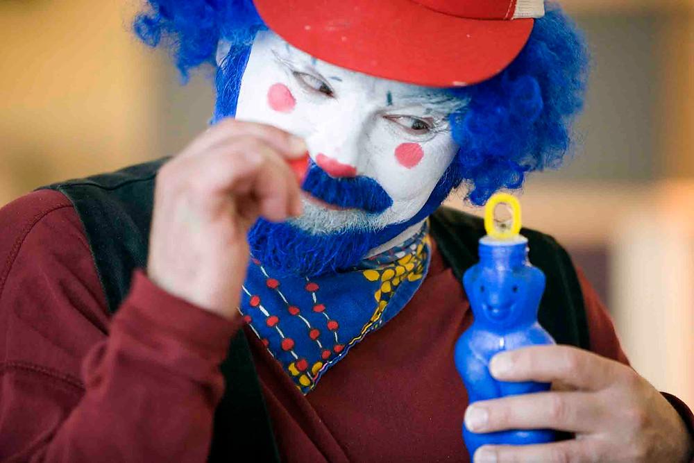 Hubert (credit: David Langdon). Clown Play and WHEAT