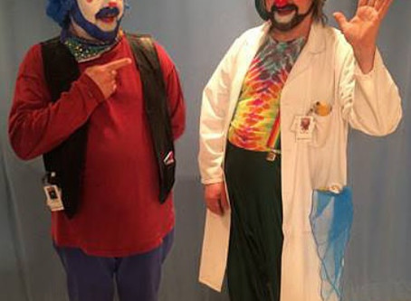 Feature the Teacher - David Langdon, Winnipeg's Therapeutic Clown!