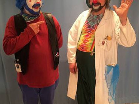 Feature the Teacher-David Langdon, Winnipeg's Therapeutic Clown!