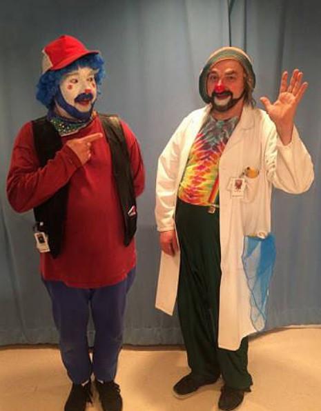 David Langdon Winnipeg Therapeutic Clown