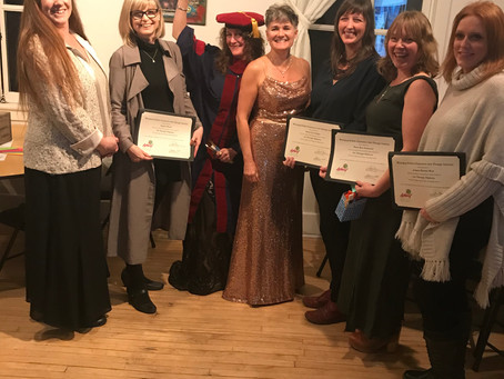 First Graduating Class of Art Therapists in Central Canada!