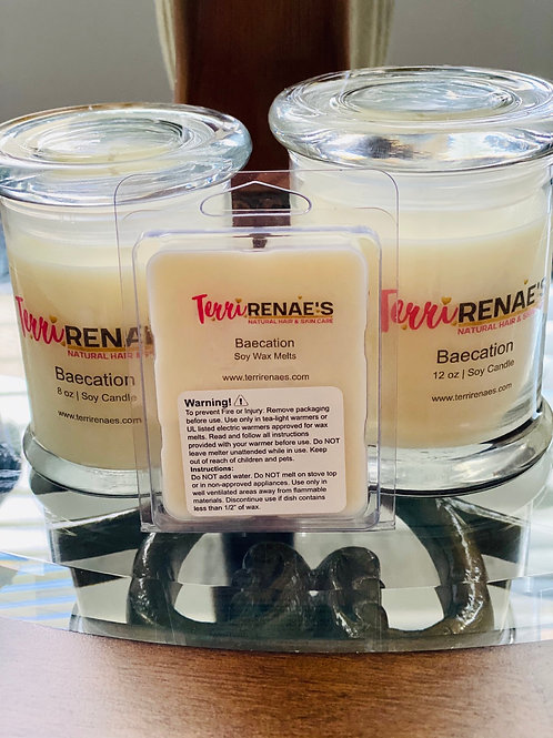 BAECATION SOY CANDLES
