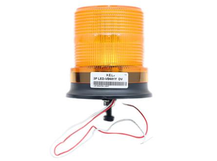 HEL LED Flashing Beacon / Single bolt mount