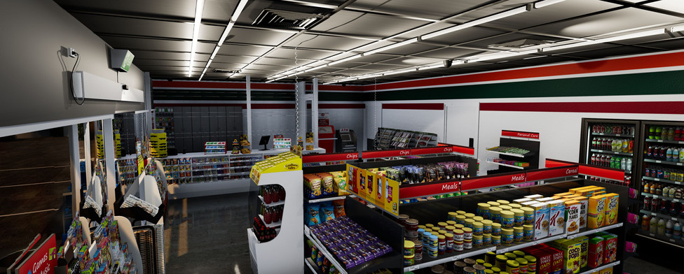 Petrol and Convenience VR Seven Eleven