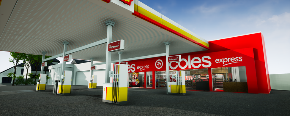 Shell Coles Express VR 3D