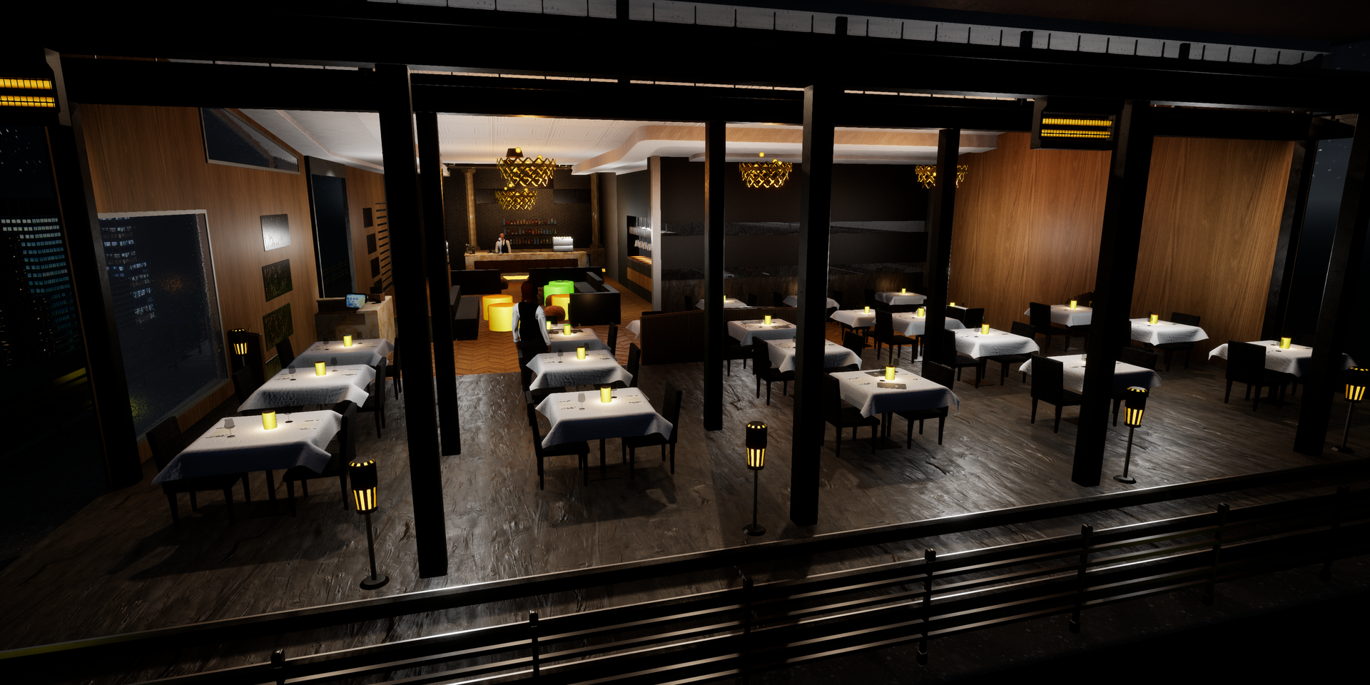 Virtual restaurant internal