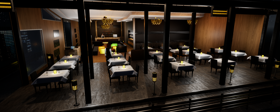 Virtual restaurant internal