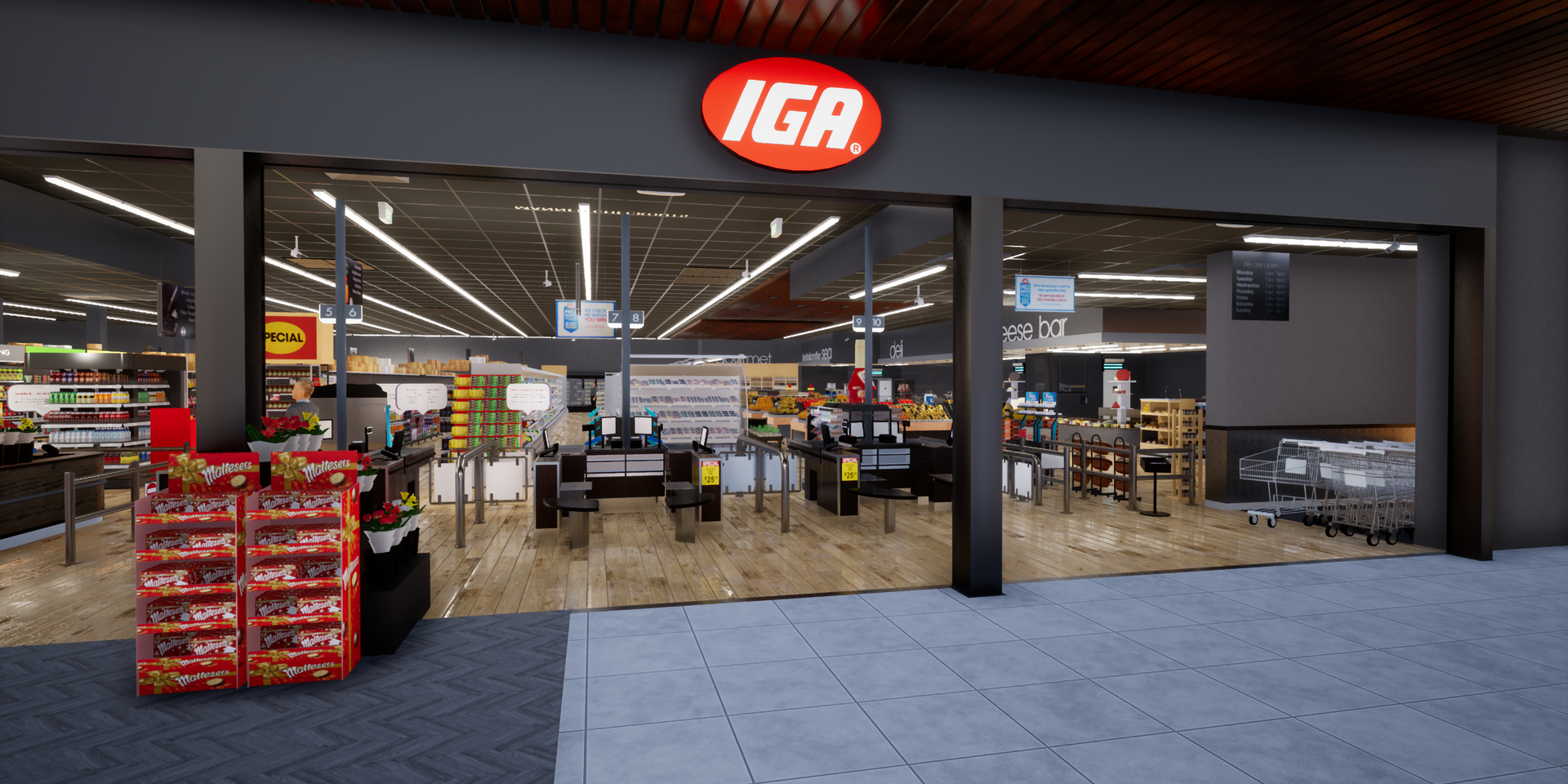Virtual generic IGA store