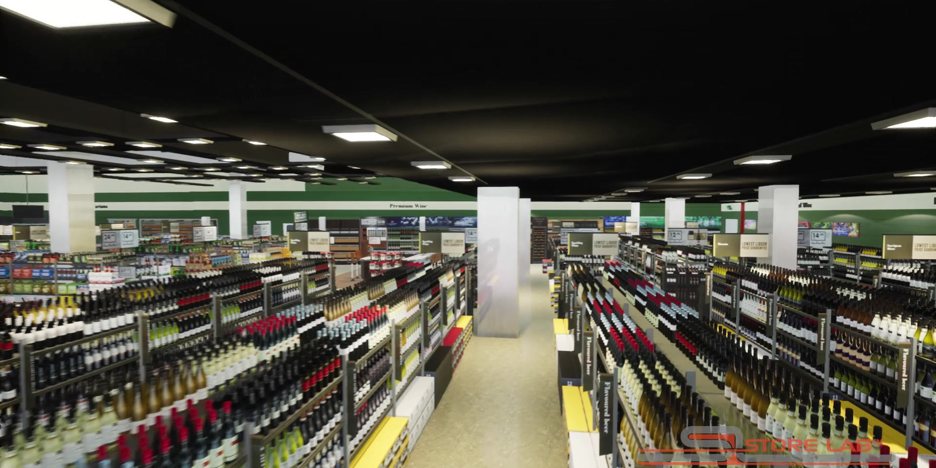 Virtual liquor outlet Dan Murphys