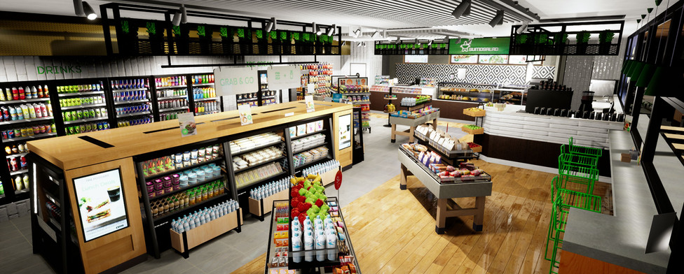 Foodary VR convenience and petrol